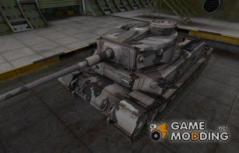 Шкурка для немецкого танка PzKpfw VI Tiger (P) для World of Tanks