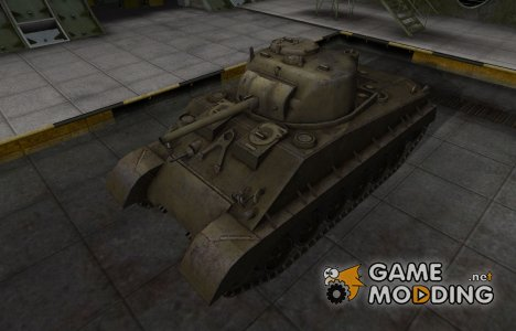 Шкурка для американского танка M4A2E4 Sherman for World of Tanks