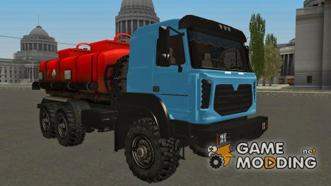 Урал-5557-80М Бензовоз для GTA San Andreas