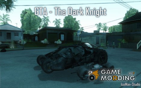 The Dark Knight mod (Темный рыцарь) for GTA San Andreas