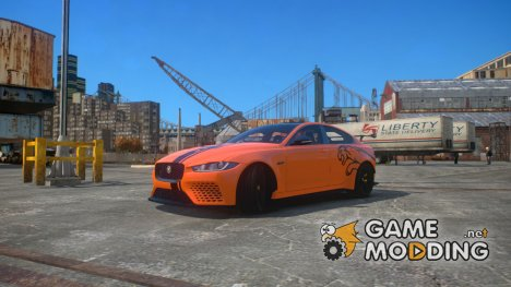 Jaguar XE SV Project 8 2017 v1.0 for GTA 4