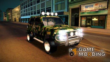Нива 4х4 v.2 for GTA San Andreas