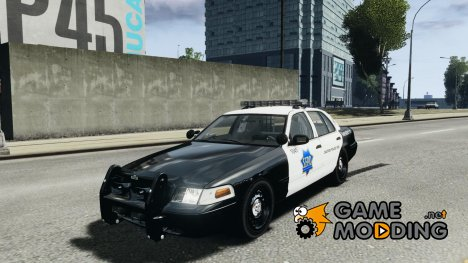 Ford Crown Victoria SFPD K9 Unit for GTA 4