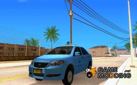 Taxi Blu*bird Toyota Vios for GTA San Andreas