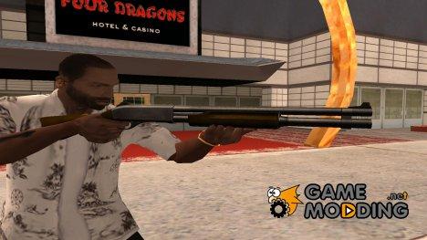 Original shotgun in hd для GTA San Andreas