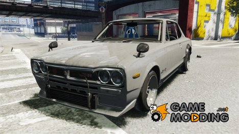 Nissan Skyline 2000 GT-R Drift Tuning для GTA 4