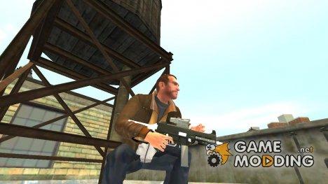 Пистолет-пулемёт UMP45 v.4 для GTA 4