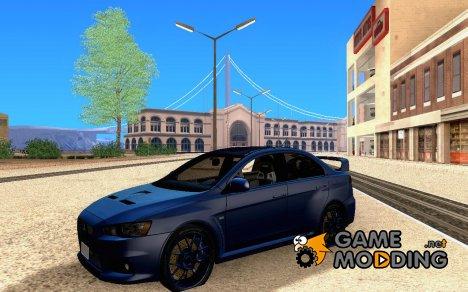 Lancer Evo X BMS Edition v1.1 для GTA San Andreas