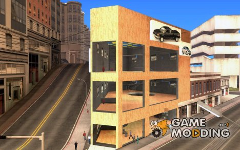 Новый автосалон в San Fiero for GTA San Andreas