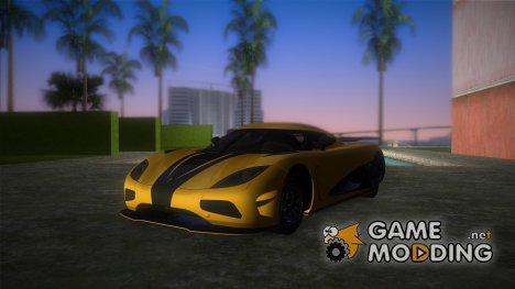 Koenigsegg Agera R 2013 for GTA Vice City