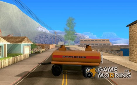Прицеп к МАЗ  533702 Бензовоз for GTA San Andreas