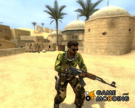 Camo Elite Crew для Counter-Strike Source