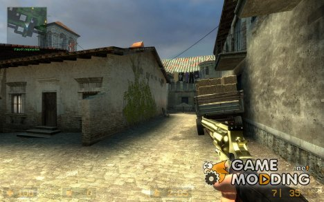 Gold S & W для Counter-Strike Source