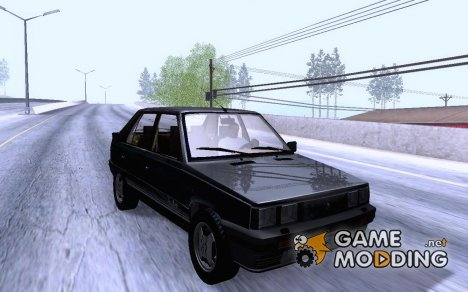 Renault 11 Turbo Sedan 1984 для GTA San Andreas