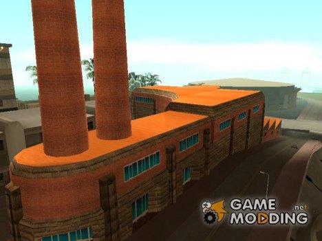 Новые текстуры завода для GTA San Andreas