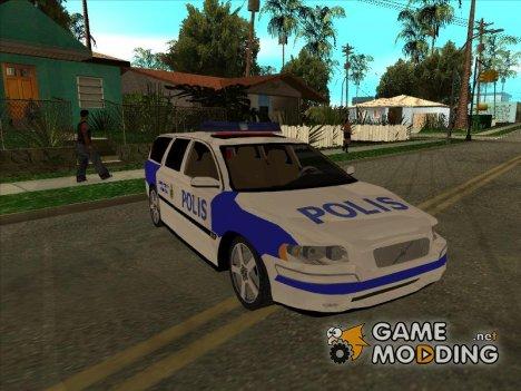Volvo v70 Swedish Police для GTA San Andreas