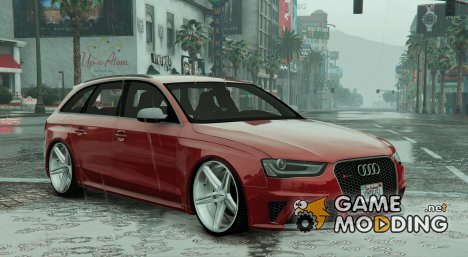 Audi RS4 Avant 1.1 for GTA 5