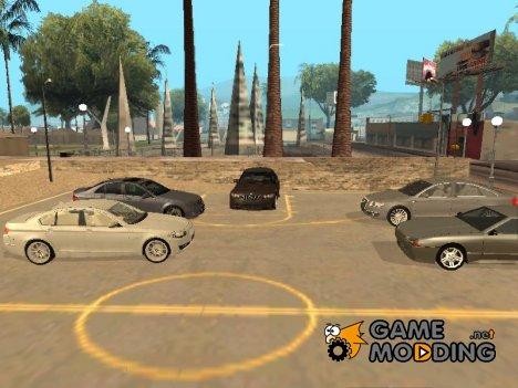 Пак четырёхдверных седанов и стритрейсерских машин для GTA San Andreas