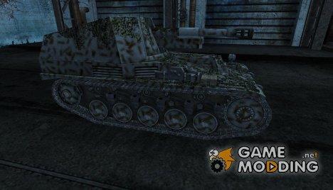 Шкурка для Wespe для World of Tanks
