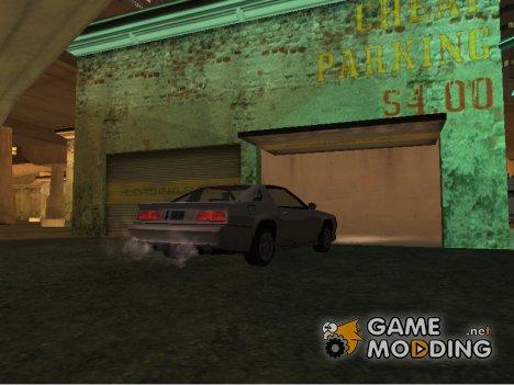 Новая система открытия гаражей for GTA San Andreas