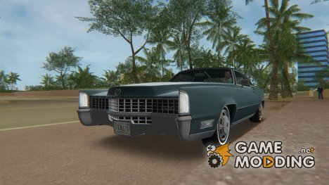 Cadillac Fleetwood Eldorado (69347-H) 1968 для GTA Vice City