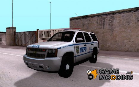 Chevrolet Tahoe 2007 NYPD for GTA San Andreas