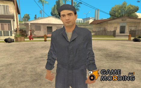 Vito's Janitor Outfit from Mafia II for GTA San Andreas