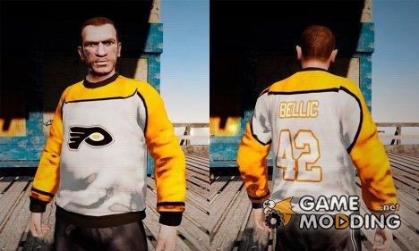 "Хоккейная майка ""Филадельфия Флайерз"" for GTA 4"