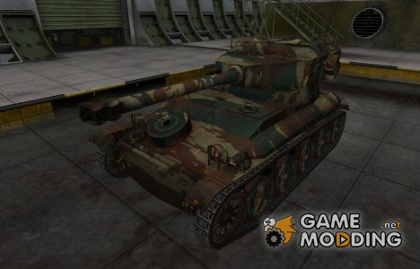 Французкий новый скин для AMX 12t for World of Tanks
