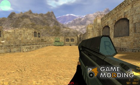 P90 spatial for Counter-Strike 1.6