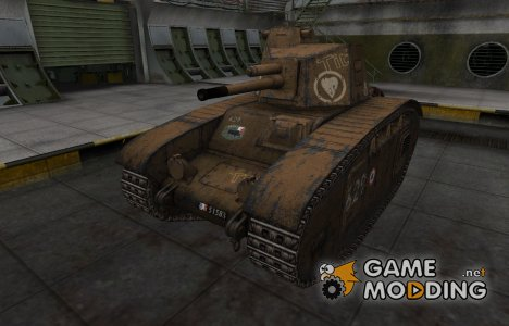Исторический камуфляж BDR G1B for World of Tanks