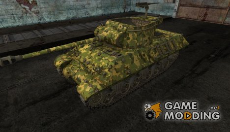 шкурка для M36 Slugger №11 for World of Tanks