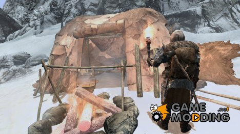 Заморозки - спасение в лагере for TES V Skyrim