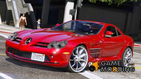 2005 Mercedes-Benz SLR v2.0 for GTA 5