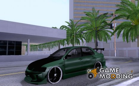 Mitsubishi Lancer EVO 8 WMMT 3dx Rally Art для GTA San Andreas
