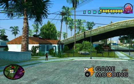 HUD Adidas for GTA San Andreas