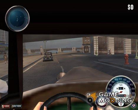 Вид из салона авто для Mafia: The City of Lost Heaven