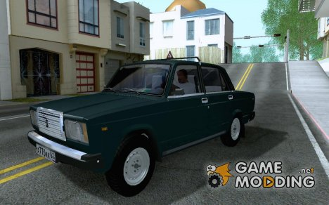 Lada 2107 V2.0 for GTA San Andreas
