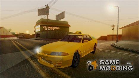 Nissan Skyline ER32 Такси для GTA San Andreas