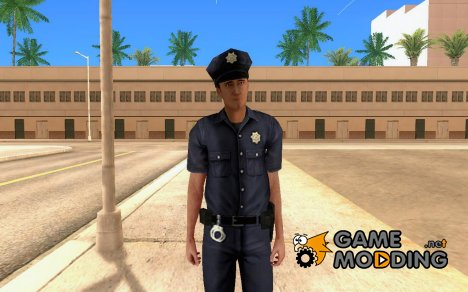 Новый полицейский для GTA San Andreas