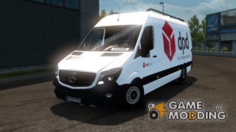 Mercedes-Benz Sprinter Long for Euro Truck Simulator 2