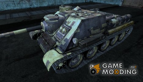 Шкурка для СУ-100 Digital Camo для World of Tanks