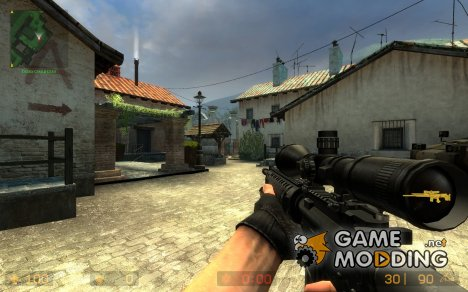 M16A4 SAM R для Counter-Strike Source