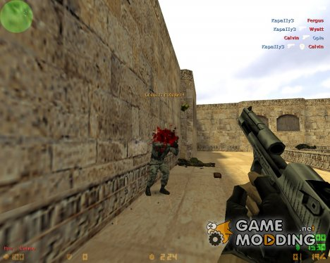 Headshot Skull убийство для Counter-Strike 1.6