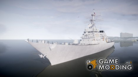 US Navy Destroyer Arleigh Burke для GTA 4