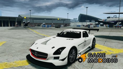 Mercedes-Benz SLS AMG GT3 2011 v1.0 for GTA 4