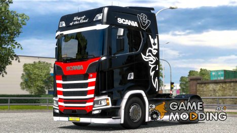 King of the Road для Scania S580 for Euro Truck Simulator 2