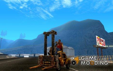 Автопогрузчик из TimeShift для GTA San Andreas