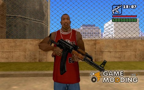 Новый ak 47 для GTA San Andreas