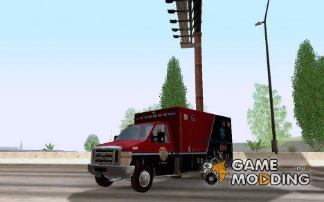 Ford E-350 AMR. Bone County Ambulance for GTA San Andreas